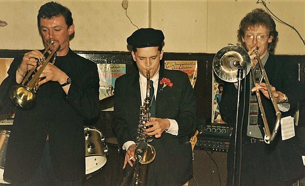 The Hard Cash Horns - George Platts, Dave Smith, Vic Berry